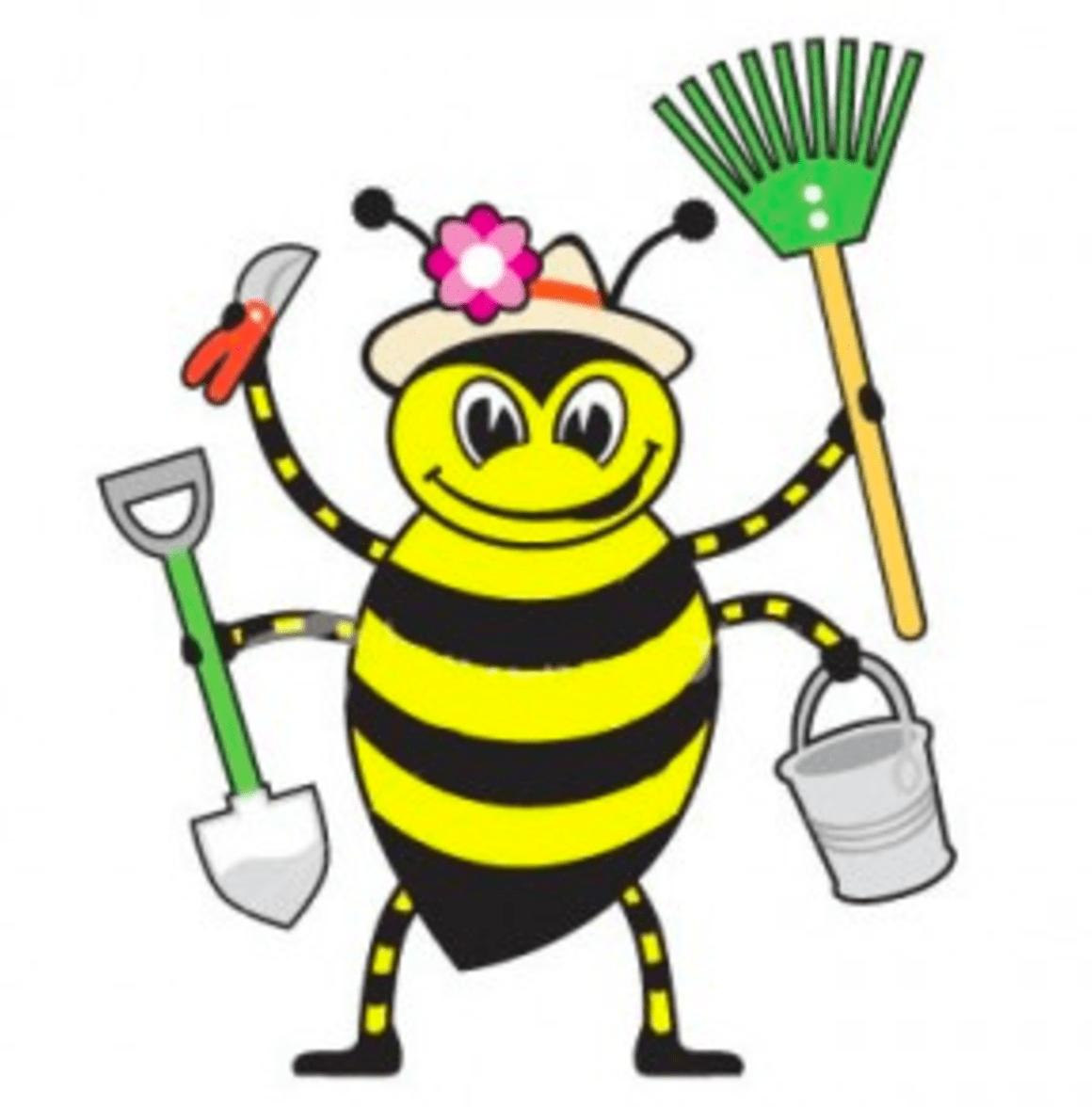 Пчелки работают картинка